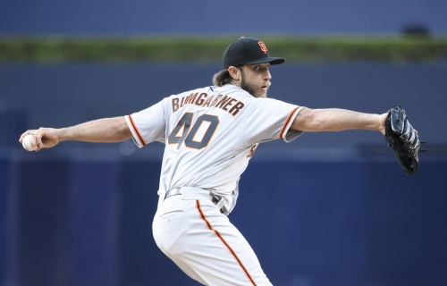 Madison Bumgarner takes a step forward in his road back to the Giants rotation