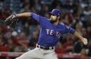 Hamels could be back in Rangers rotation by next week
