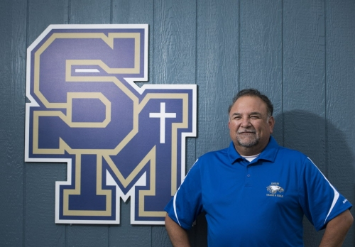 Santa Margarita's Gil Garcia is the Register's girls track and field coach of the year
