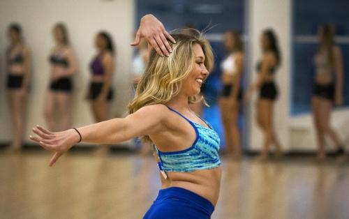 Spirit on the dance floor: Cal State Fullerton Titans Dance Team tryouts