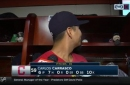 Carlos Carrasco looks to 'Mini Cookie' for answers