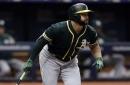 MLB trade rumors: Athletics' Yonder Alonso as Yankees' 1st base solution?