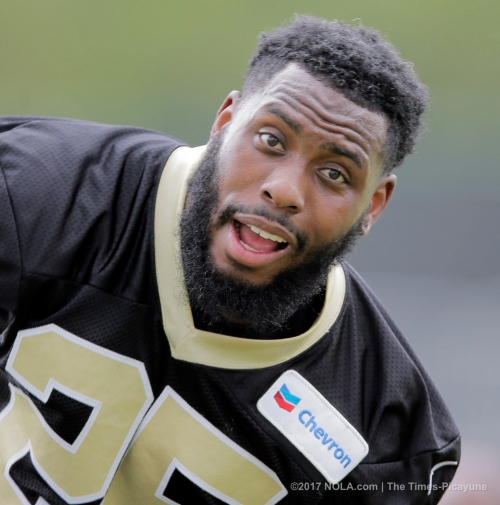 After 'fresh start' in Detroit, Rafael Bush returns to Saints as veteran leader