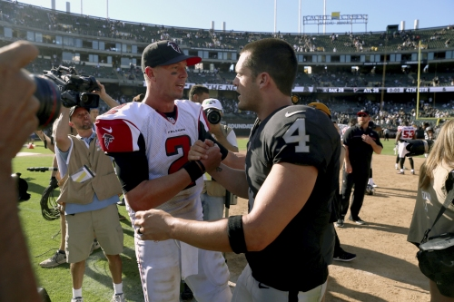 What Derek Carr's contract means for Matt Ryan and the Falcons