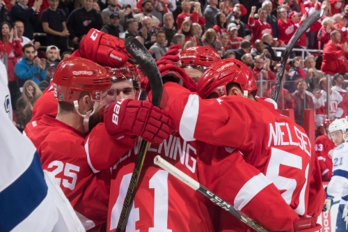 Red Wings' 2017-18 schedule released