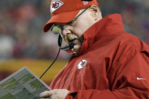 Chiefs coach Andy Reid signs contact extension The Associated Press