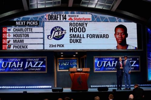 2017 NBA Draft Rumor: Utah Jazz looking to package draft picks to trade into lottery.