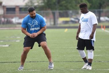 Lions' Jarrad Davis ready to build communication with Tahir Whitehead