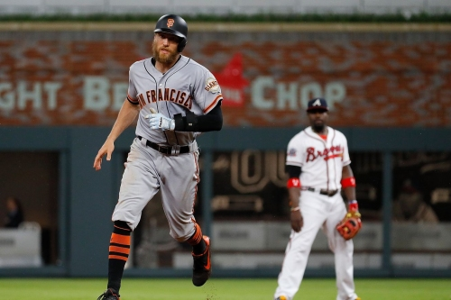 The Giants can come back in the ninth inning now