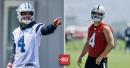 Dak Prescott vs. Derek Carr: How the Cowboys QB compares to the league's newest rich man
