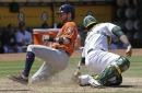 Reddick's big day lifts Astros over Athletics 12-9 (Jun 22, 2017)