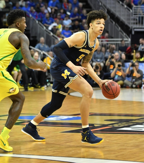 Michigan's D.J. Wilson drafted by Milwaukee