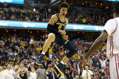 D.J. Wilson is the 17th overall pick in the NBA Draft, goes to the Milwaukee Bucks