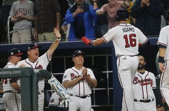 Braves hit 4 HRs, use 8-run 5th to hold off Giants 12-11 (Jun 22, 2017)