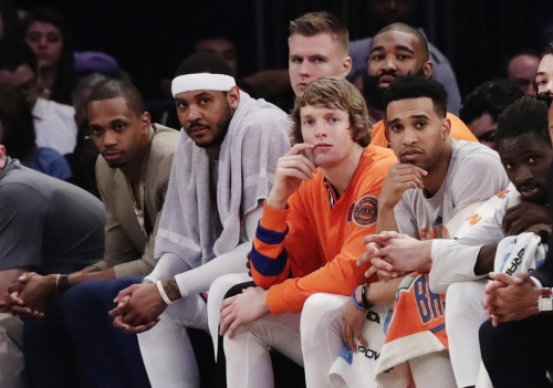 Clear after draft that Carmelo Anthony doesn't fit Knicks' plans