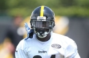 Antonio Brown takes advantage of longest day of the year with late night training session