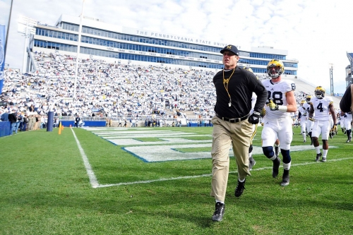 Penn State will look to 'white out' last year's loss in Ann Arbor