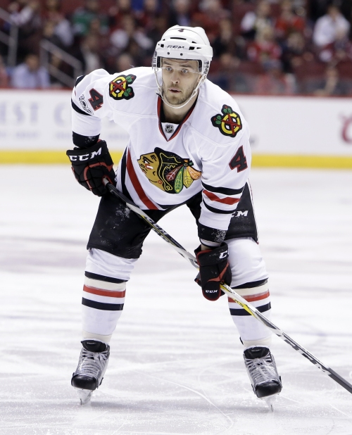Coyotes get D Niklas Hjalmarsson in trade with Blackhawks The Associated Press