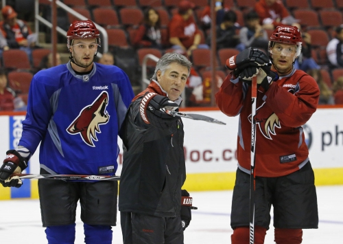 Your take on Dave Tippett: What are Arizona Coyotes doing?