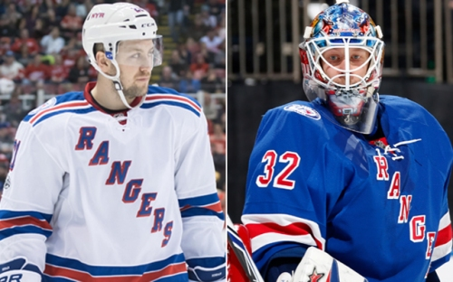 Rangers trade Stepan, Raanta to Coyotes for DeAngelo, No. 7 pick