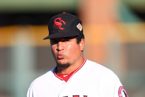 RHP Eduardo Paredes called up to the Angels