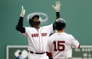 David Ortiz's retirement ceremony is main event, but Red Sox still also have game & Dustin Pedroia is not in lineup