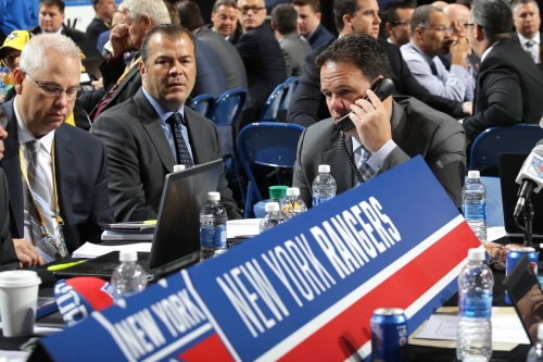 Report: Rangers Looking To Move High Up in The First Round