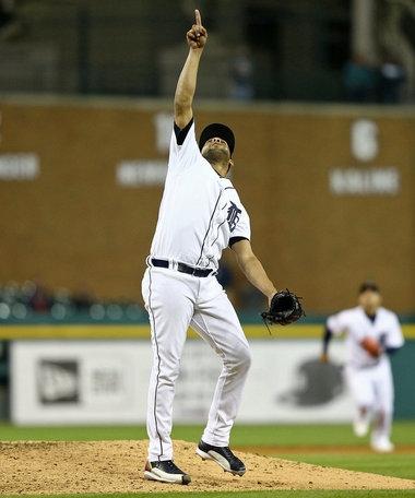 Tigers release veteran closer Francisco Rodriguez