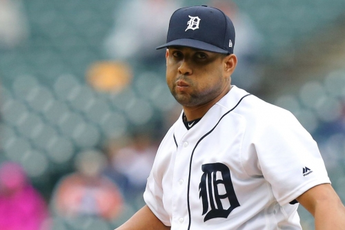Tigers release former closer Francisco Rodriguez