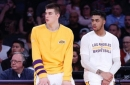 Ivica Zubac says he'll 'miss playing with' D'Angelo Russell in goodbye Instagram post