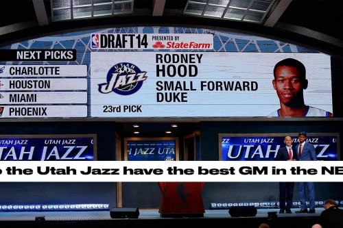 Dennis Lindsey proved that he's the best GM in the NBA at the 2017 NBA Draft