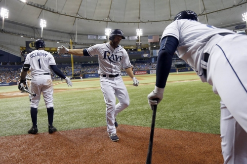 Rays 15, Orioles 5: Rays tear down the opposition on Demo Night
