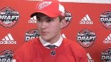 Center Rasmussen is Red Wings' first-round draft pick