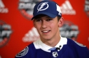 Cal Foote, son of Avalanche great, goes 14th to Tampa Bay Lightning