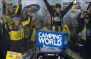 John Hunter Nemechek Goes Back-to-Back with Win at Iowa | 2017 TRUCK SERIES | FOX NASCAR