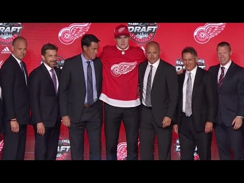 Michael Rasmussen will make Red Wings bigger, harder to play against in future