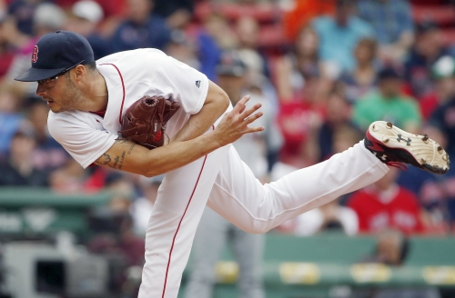 Joe Kelly now eighth-inning reliever for Boston Red Sox with Matt Barnes struggling to find strike zone