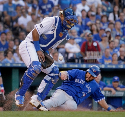 Blue Jays blow it in the ninth, lose to Royals