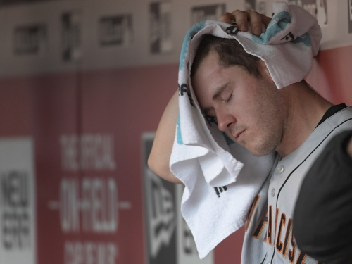 Ty Blach battered badly by Mets in Giants' latest humiliating defeat