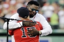Dustin Pedroia: 'I obviously miss playing with' longtime Boston Red Sox DH David Ortiz