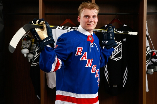 Rangers get talented Swede who models himself on champion
