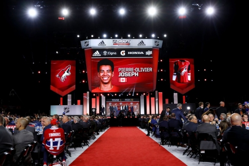 Arizona Coyotes Trade 35th Overall for picks 44, 75 and 108