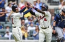 Phillips' 2-run homer powers surging Braves past Brewers 3-1 (Jun 24, 2017)