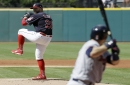 Corey Kluber's 13 strikeouts goes for naught as Cleveland Indians lost, 4-2, to Twins
