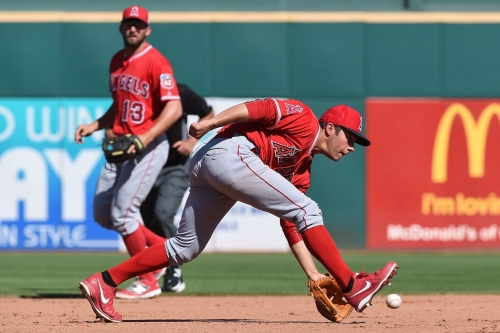 What's the Angels' long term plan at second base?