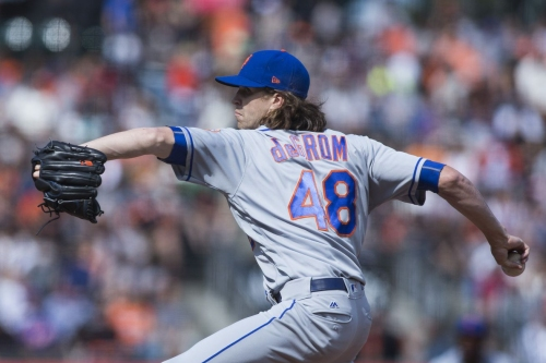 Final Score: Mets 5, Giants 2—The Jake and Flo Show