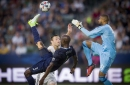 LA Galaxy outplayed by Sporting Kansas City in 2-1 loss