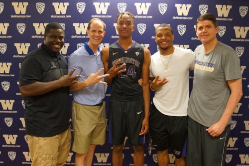 4-Star Forward Hameir Wright Commits to Washington