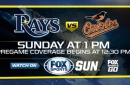 Preview: Odorizzi looks to deliver Rays' eighth straight rubber-match win