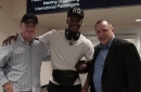 Jimmy Butler Arrives in Minneapolis